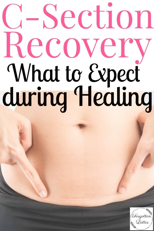 After my c-section all I wanted to know was when I would start feeling better. When I found this article these tips completely changed my postpartum and c-section recovery! #csection #csectionrecovery #pregnancy #csectionrecoverytimeline #postpartum #postpartumrecovery #baby #motherhood #parenting