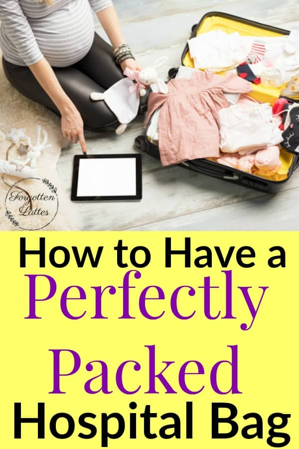 As you near the end of your pregnancy if you're wondering exactly what you need to pack in your hospital bag for your delivery (and for a great postpartum recovery) than this post has everything you need! #pregnancy #postpartum #hospitalbag #hospitalbagchecklist #hospitalbagchecklistfornewmoms