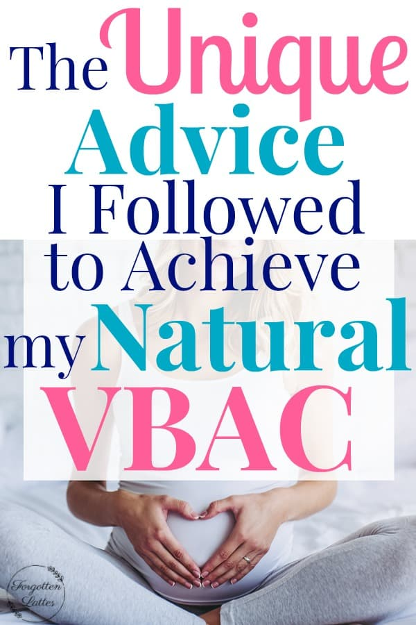 I compiled a list of all the tips I followed to achieve my completely natural, drug free, incredibly fast vaginal birth after TWO c-sections. If you're hoping for a VBAC or an all-natural delivery, these tips are a can't miss! #vbac #pregnancy #vaginalbirth #vaginaldelivery